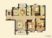 锦绣江南4室2厅2卫139平方米户型图