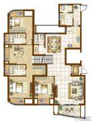 融侨华府4室2厅2卫0平方米户型图
