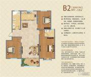 映象西班牙3室2厅2卫128平方米户型图