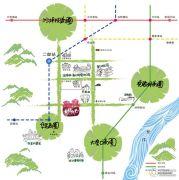 渝高幸福九里交通图