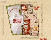 云浮远大美域小镇3室2厅2卫117--137平方米户型图