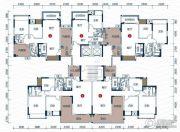壹品湖山2室2厅1卫60--120平方米户型图