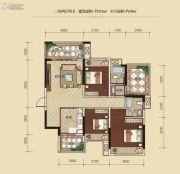 联发柳雍府3室2厅2卫112平方米户型图