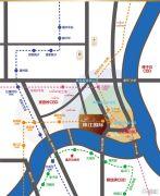 珠江国际商务港交通图
