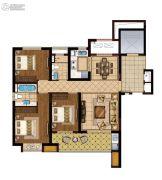 龙湖滟澜海岸(海与城)3室2厅2卫114平方米户型图