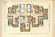 兴业花园3室2厅2卫133平方米户型图