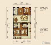 翡翠山4室2厅2卫120平方米户型图