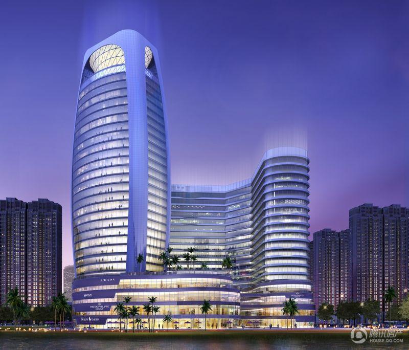 未来城国际中心效果图