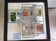 栖里凤台山庄3室2厅1卫110平方米户型图