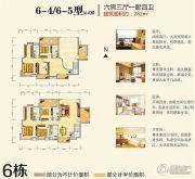 神憩乾珑6室3厅4卫282平方米户型图