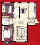 阿穆尔嘉园2室2厅2卫115平方米户型图