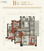 香檀一号5室2厅3卫260平方米户型图