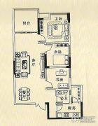 华诚都汇3室2厅1卫0平方米户型图
