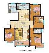 龙都名城4室2厅2卫0平方米户型图