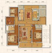 绿城・玫瑰园4室2厅2卫175--196平方米户型图
