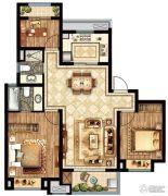 盛世景庭3室2厅2卫0平方米户型图