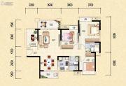 藏珑华府4室2厅2卫109平方米户型图