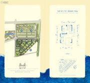 金地扑满花园3室2厅2卫89平方米户型图