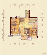 贵安新天地3室2厅1卫0平方米户型图