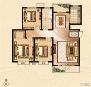 香山华府3室2厅1卫114--117平方米户型图