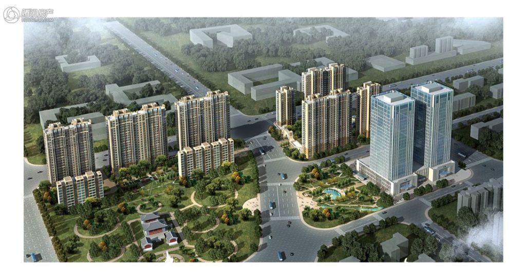 三庆·御园鸟瞰图