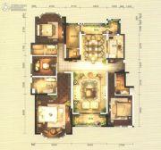 俊发・九夏云水5室2厅3卫200平方米户型图