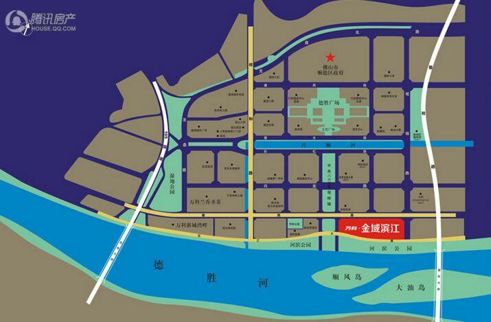 万科金域滨江交通图
