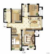 印象欧洲4室2厅1卫102平方米户型图