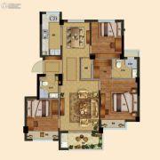 祥生云浦新语3室2厅2卫90平方米户型图