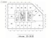 东方希望天祥广场2494平方米户型图