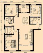 加莱印象4室2厅2卫151平方米户型图