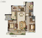 鲁能地产-吴蠡雅苑4室2厅2卫126平方米户型图