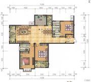 奥园康城3室2厅2卫131平方米户型图