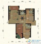 东方名城0室0厅0卫123平方米户型图