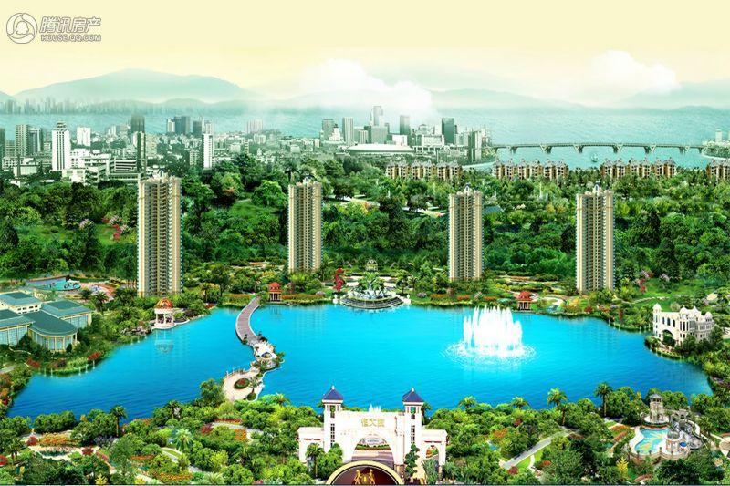 潮州恒大城项目效果图