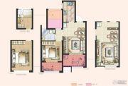 神州通北城新境2室2厅1卫64平方米户型图