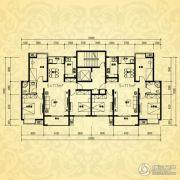 银河湾・3号院2室2厅1卫117平方米户型图