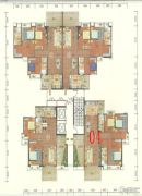 碧海园3室2厅2卫120--130平方米户型图