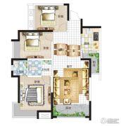亚星盛世4室2厅2卫112平方米户型图