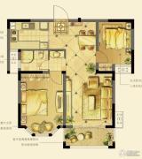 诚河新旅城2室2厅0卫79平方米户型图