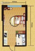 西城阳光0室0厅0卫33平方米户型图