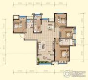 均瑶・御景天地4室2厅2卫136平方米户型图