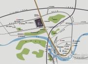 富力现代广场交通图