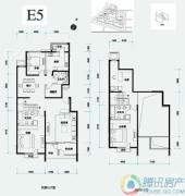 北辰香麓4室2厅3卫0平方米户型图