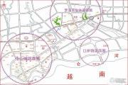 英华东方河畔交通图
