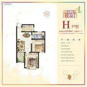 山水龙城蝶苑0室0厅0卫0平方米户型图