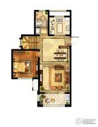 中粮鸿云5室2厅2卫114平方米户型图