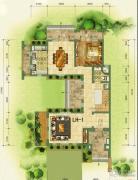 鲁能海蓝福源1室1厅1卫0平方米户型图