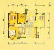 祥瑞・四季印象3室2厅2卫143平方米户型图