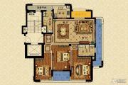 长峙岛・香芸园3室2厅2卫129平方米户型图